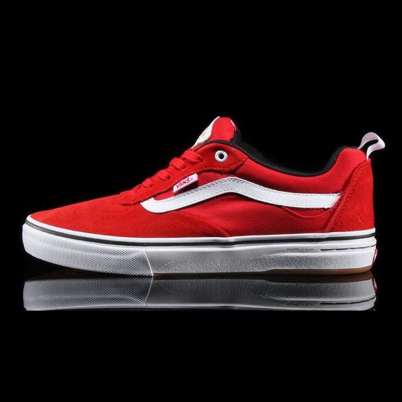 Tenis Vans Old Skool Kyle Walker Pro Red White Originales
