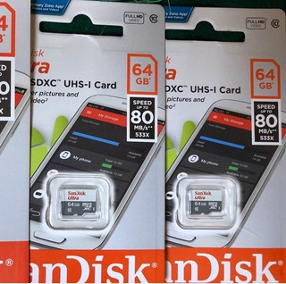 Tarjeta Microsd Sandisk 64 Gb
