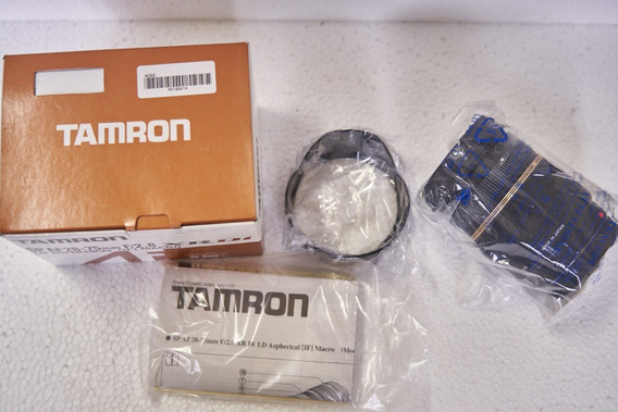 Lente 28-75/f2.8 Tamron P/sony A-mount