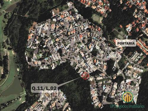 Cond. Golf Village (fazendinha) - Lote 880,285 M² C/ Vista P/ Mata - M - F31