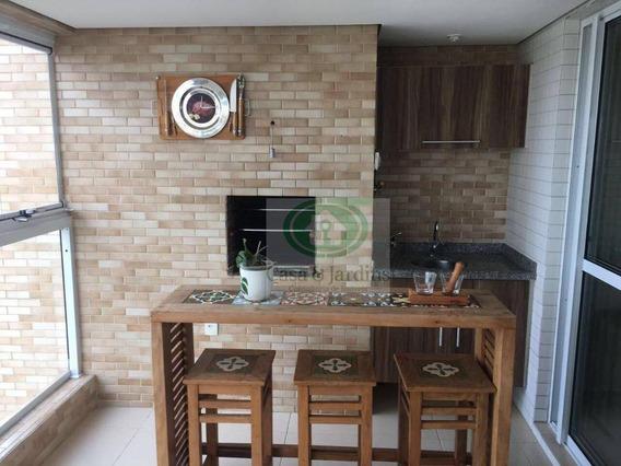 Apartamento Com Vista P/ Mar Na Enseada - Ap6020