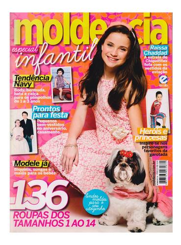 Revista Moda Infantil Com Moldes 136 Roupas Tamanhos 1 Ao 14