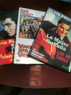 Elcis Presley Películas Dvd