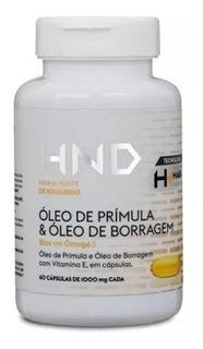 Óleo Prímula & Borragem 60 Cápsulas Ômega 3 Alivia Menopausa