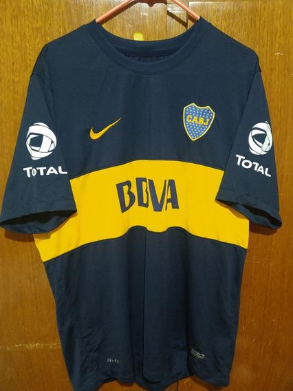 Camiseta De Boca Juniors Nike Original 2012 Dri-fit Xl