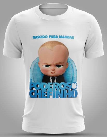 Camiseta Do Filme Poderoso Chefinho