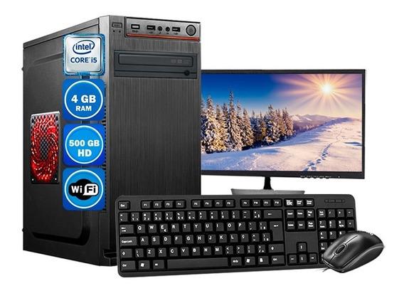 Computador Completo Core I5 2°geração 4gb Hd500gb Monitor 19
