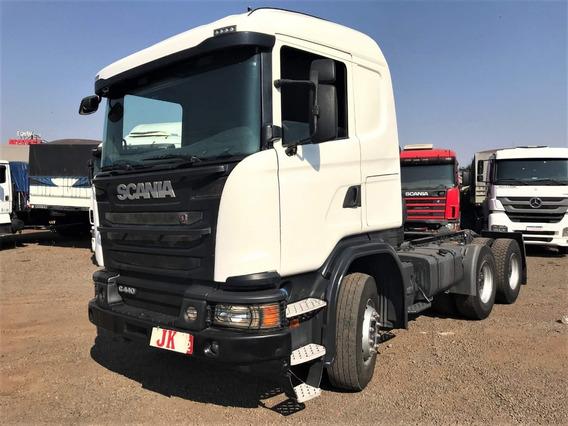 Scania G-440 6x4 Ano 2014/15