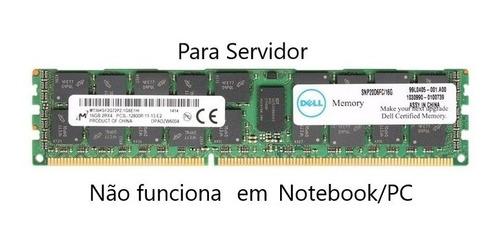 Memória Dell 16gb Pc3l-12800r 1600 Mhz 2rx4