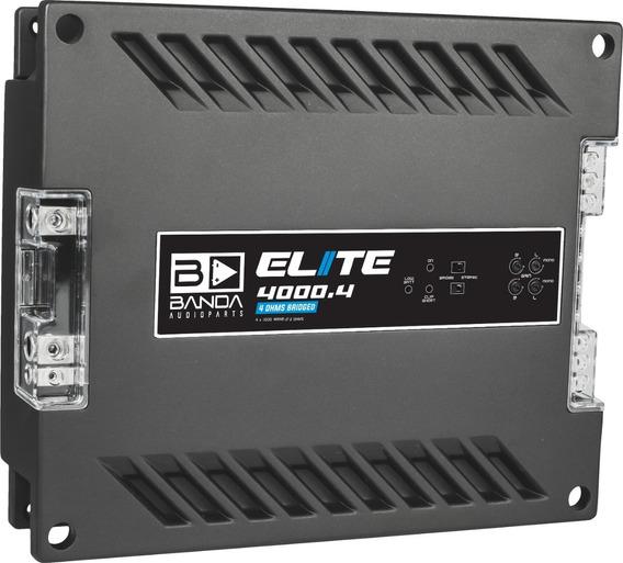 Módulo Amplificador Banda Elite 4000.4 2 Ohms 4 Canais