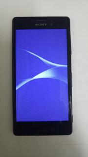 Celular Sony M4 E2363 C/defeito P/retirar Peças Ap Fake Pret