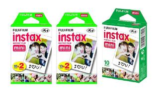Fujifilm Instax Mini Instant Film, Paquete De 5 Bundle In