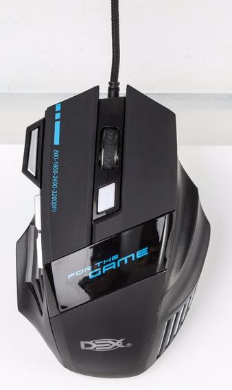Mouse Gamer 3200 Dpi Luz De Led 5 Cores 7 Botões C Ltm-993m