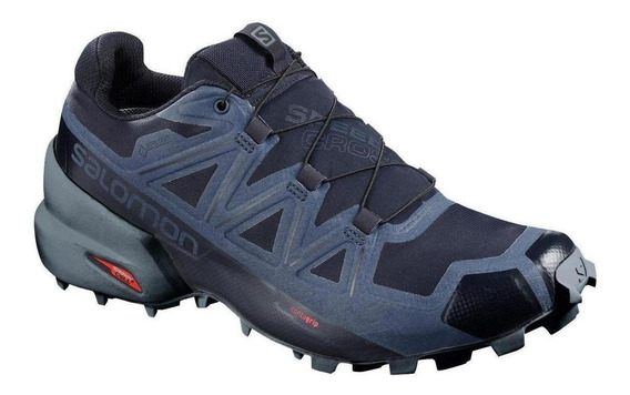 Tenis Trail Running Salomon Speedcross 5 Gtx Navy Men Run24