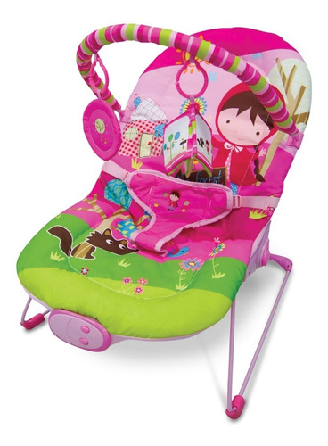 Silla Porta Bebe Mega Baby Música Vibración Barra Jugue 9 Kg
