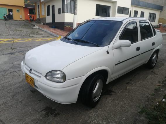 Corsa Gl Modelo 97 Exelente Estado Color Blanco Placa Par 0