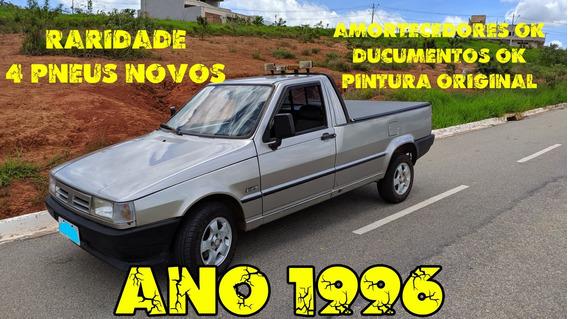 Fiorino 1996 Raridade Com 119 Mil Km. Pintura Original