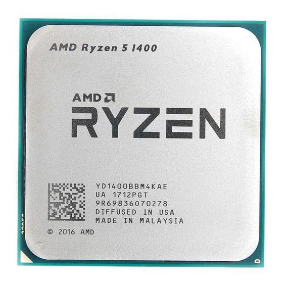 Processador AMD Ryzen 5 1400 4 núcleos 68.7 GB