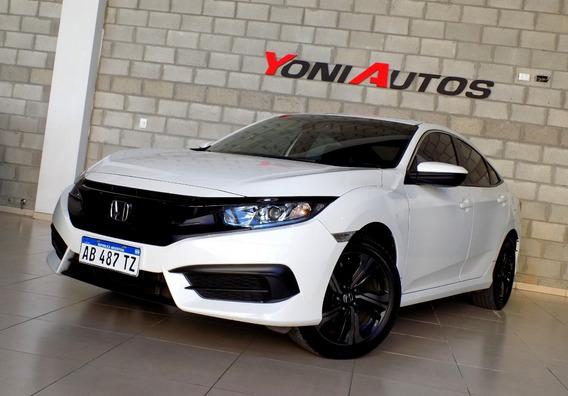 Honda Civic 2.0 Ex 2017 -1° Mano- -u-n-i-c-o- = Okm- Permuto