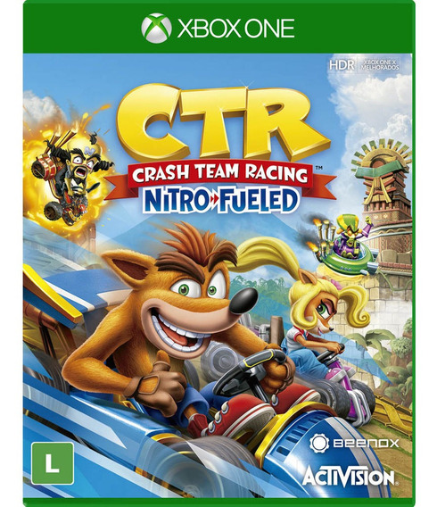 Crash Team Racing Nitro Fueled Xbox One Digital+1 Jogo