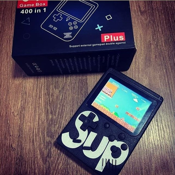 Vídeo Game Portátil Mine Game Boy 400 Jogos Retro Clássico