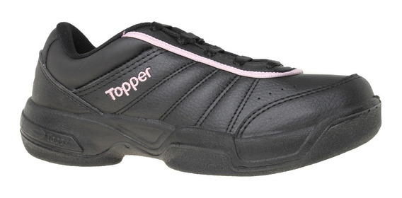 Zapatillas Topper Tennis Lady Tie Break Iii Mujer Ng/rv