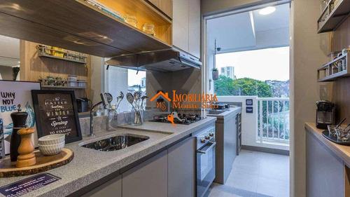 Imagem 1 de 29 de Apartamento Com 2 Dormitórios À Venda, 56 M² Por R$ 325.000,00 - Vila Rosália - Guarulhos/sp - Ap2787