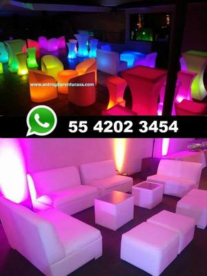 Salas Lounge E Iluminadas Led Renta Taquizas Dj Para Fiestas