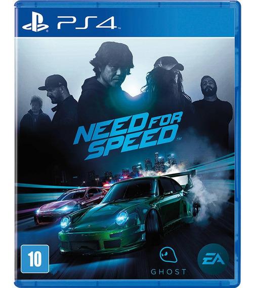 Game Need For Speed Ps4 Midia Fisica Original Lacrado Barato