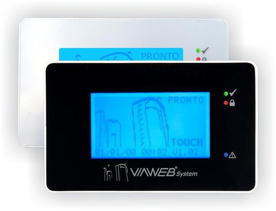 Teclado Viaweb Touch Preto