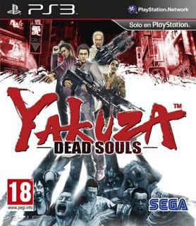 Yakuza Dead Souls Playstation 3 Fisico