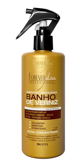 Forever Liss Queratina Hidrolisada Banho De Verniz 300ml