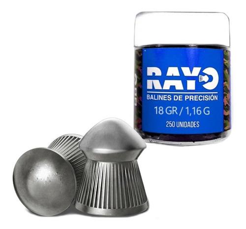 Balin Diabolo 5.5 X250 18gr Rayo El Jabali