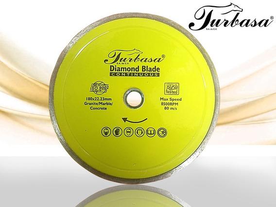 Disco Diamante Continuo 7 Turbasa Con 2 Pzas