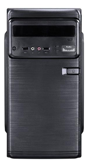 Computador Lite Intel Dual Core J1800 2.41ghz Memoria 4gb Hd 500gb Hdmi/vga Fonte 200w - Linux - Coringa Movva