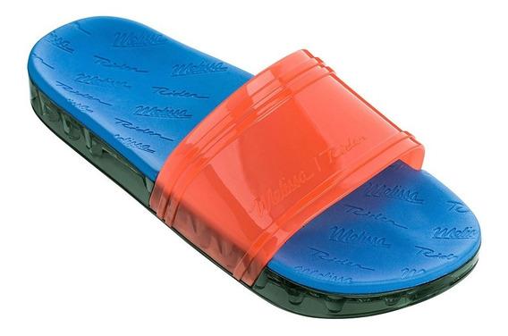 Slide + Rider Laranja/azul Melissa