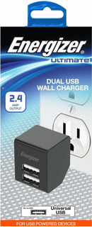 Premier Energizer Ultimate Dual Usb Wall Charger