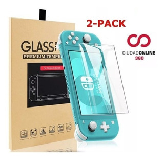 Vidrio Templado Nintendo Switch Lite X2 Pantalla Film Glass