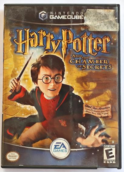 Jogo Harry Potter Chamber Of Secrets Gamecube Frete Grátis