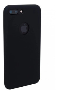 Capa Silicone Case Primeira Linha Aveludada iPhone 7/8 Plus