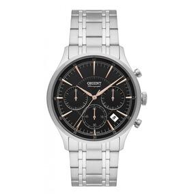 Relógio Orient Prateado Masculino Mbssc188g1sx