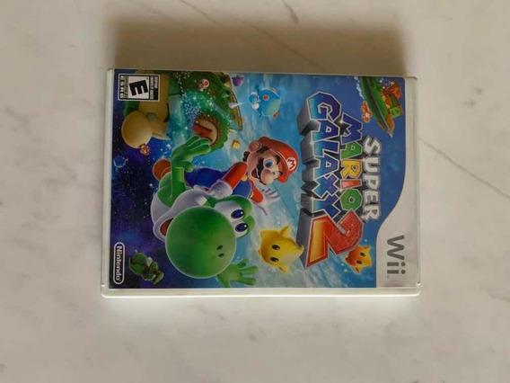 Jogo Wii Super Mário Galaxy 2 - Mídia Física