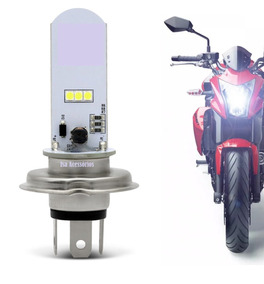 Lampada Led H4 Moto Super Branco 8000k Honda Nxr 150 Bros.