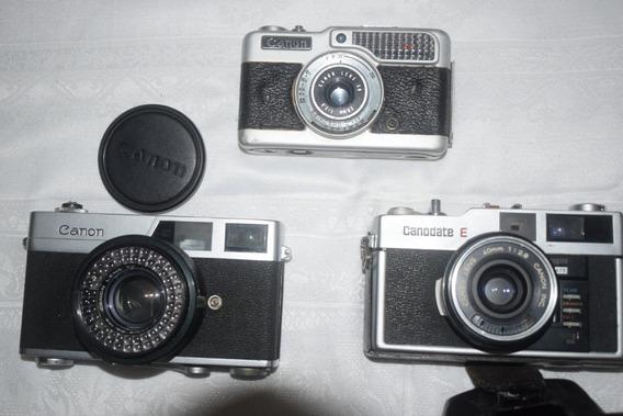 3 Canon Rangefinder Diferentes