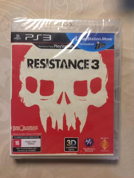 Jogo Ps3 Resistance 3 - Lacrado Novo