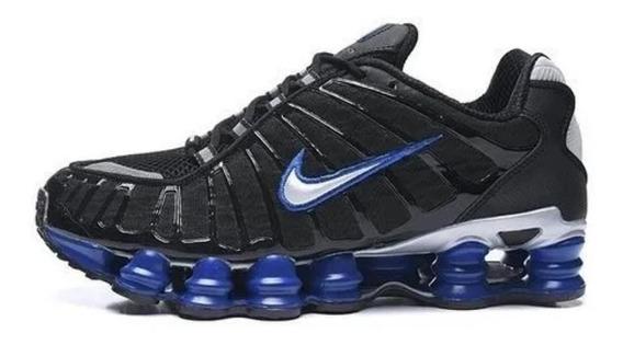 Tênis Masculino Nike Shox 12 Molas Tl Original