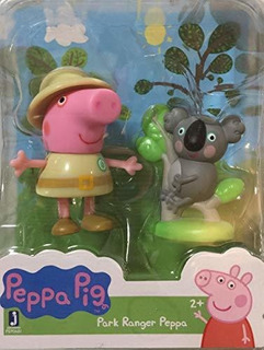 Peppa Pig Park Ranger Con Baby Koala Bear Figure
