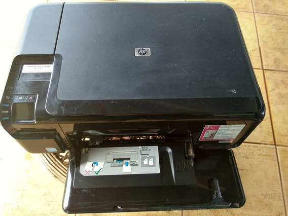 Impressora Multifuncional Hp Photosmart C 4480 C4480 Defeito