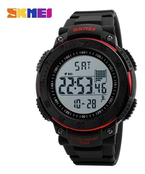 Reloj Podómetro Digital Skmei 1238 Deportes Caminata Unisex