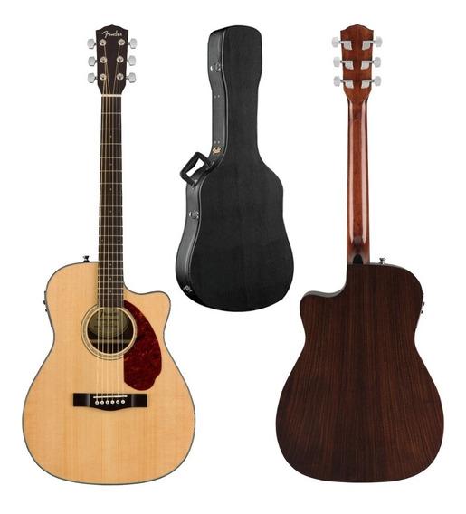 Guitarra Electroacústica Fender Cc-140sce Nat Wc Cutaway